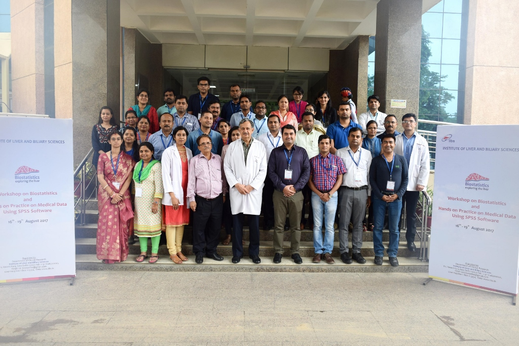 Biostatistics Workshop - 16th - 19th Aug 2017