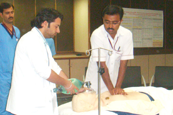 Basic Life Support Workshop held on 21.06.2014