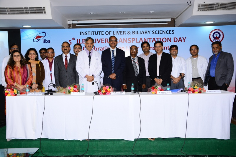 5th ILBS Liver Transplant Day - 16th Mar 2015