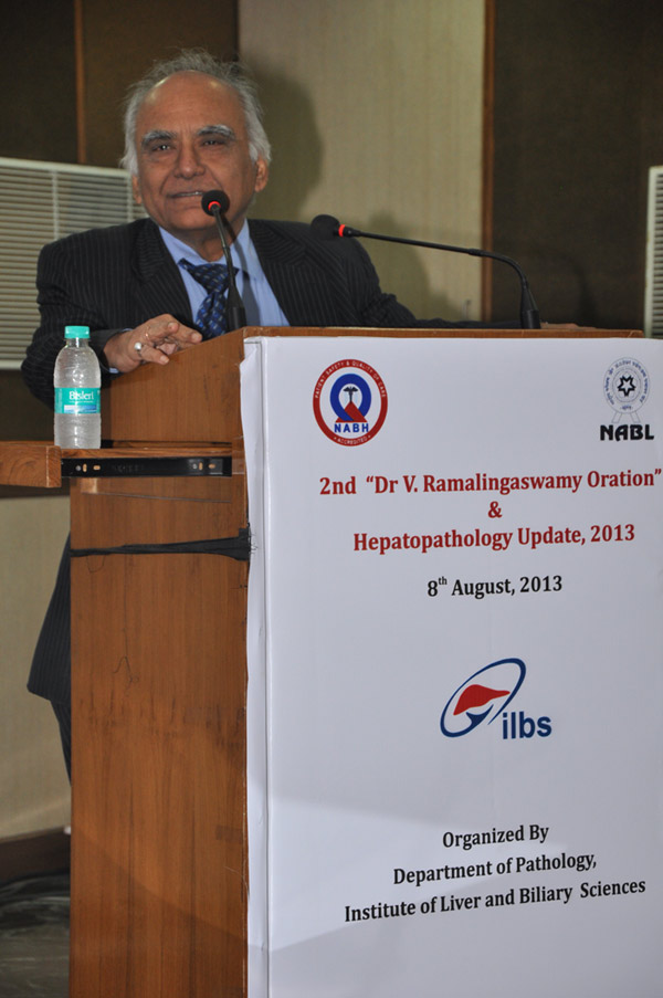 2nd Dr V Ramalingaswamy Oration - 8th Aug 2013