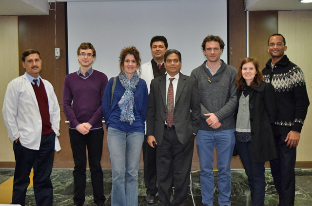 Visit of student-superintendents from the Institute of High Studies on Public Health of France 20th Jan 2015