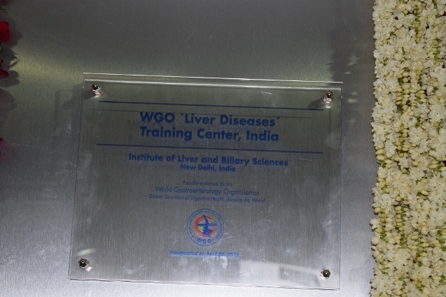 WGO Training Center Inaugurated at ILBS.