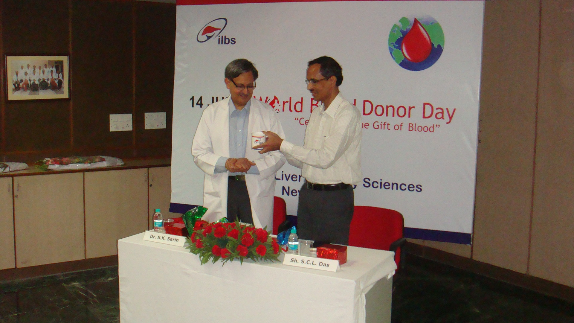 World Blood Donor Day - 14 June 2013